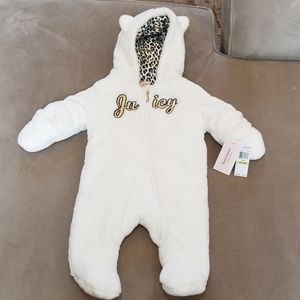JUICY COUTURE Baby Girl One Piece Winter Suit BNWT